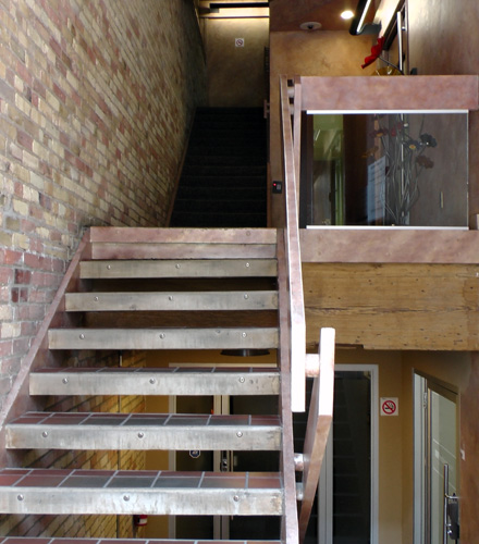 Front entrance looking in