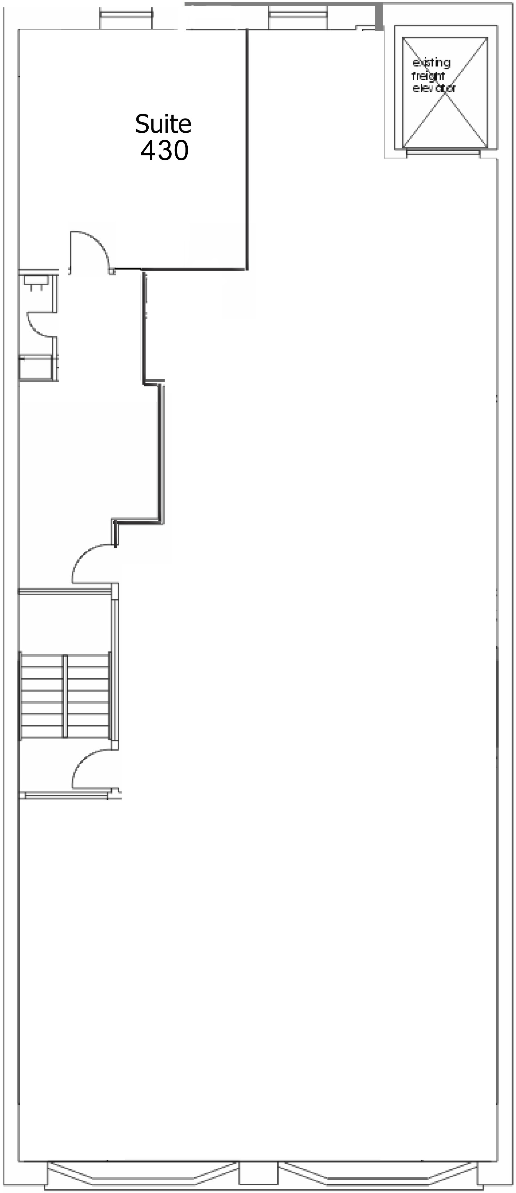 Suite 430 Floor Plan